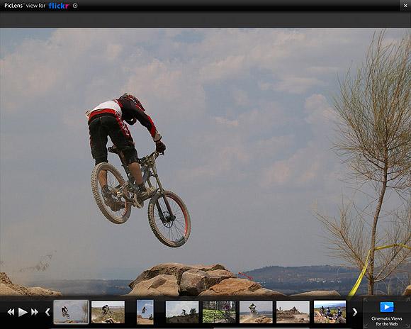 Skärmdump av Piclens