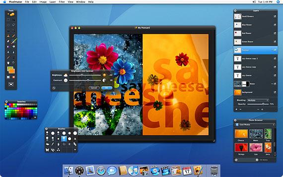 Skärmdump av Pixelmator