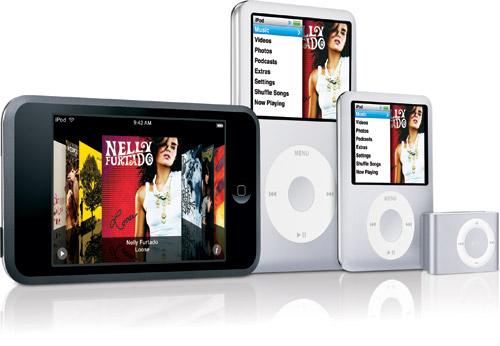 iPod-familjen